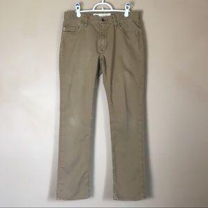 Vans Men's Brown Denim Jeans V56 Standard 32x31